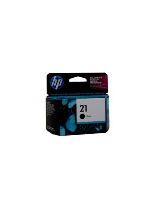 HP #21 Genuine Black Ink Cartridge C9351AA - 185 pages