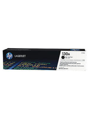 HP #130A Genuine Black Toner Cartridge CF350A - 1,300 pages