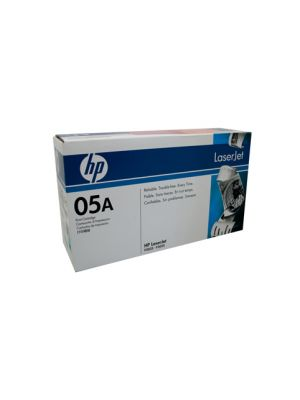 HP #05A Genuine Black Toner CE505A - 2,300 pages