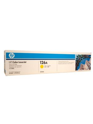 HP #126A Genuine Yellow Toner CE312A - 1,000 pages