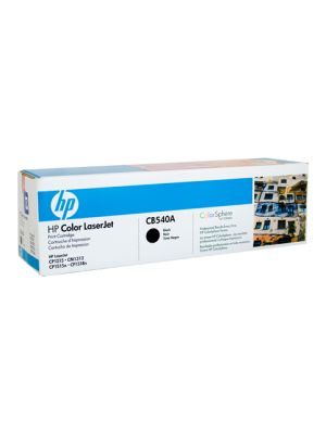 HP #125A Genuine Black Toner CB540A - 2,200 pages