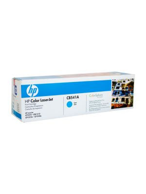 HP #125A Genuine Cyan Toner CB541A - 1,400 pages