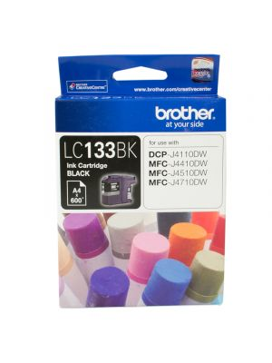 Brother LC133 Genuine Black Ink Cartridge - up to 600 pages