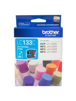 Brother LC133 Genuine Cyan Ink Cartridge - up to 600 pages
