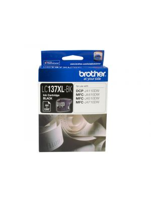 Brother LC137XL Genuine Black Ink Cartridge - up to 1200 pages