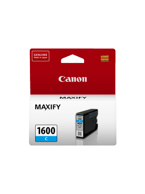 Canon PGI1600C Genuine Cyan Ink Tank - 300 pages