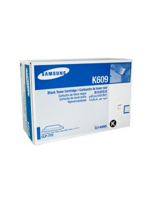 Samsung CLTK609S Genuine Black Toner - 7,000 pages