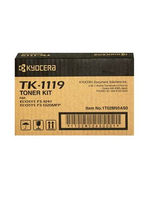 Kyocera TK-1119 Genuine Toner Cartridge - 1,600 pages
