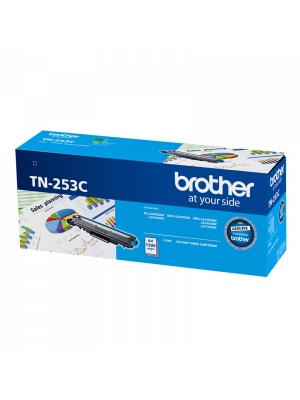Brother TN253 Genuine Cyan Toner Cartridge - 1,300 pages