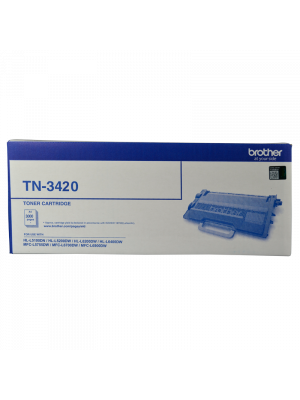 Brother TN3420 Genuine Toner Cartridge - 3,000 pages