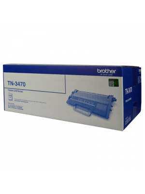 Brother TN3470 Genuine Toner Cartridge - 12,000 pages