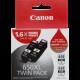 Canon PGI650XL Genuine Black Ink Twin Pack