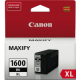 Canon PGI1600XL Genuine Black High Yield Ink Tank - 1200 pages
