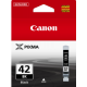 Canon CLI42 Genuine Black Ink Cartridge - 65 pages A3+