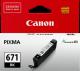 Canon CLI671 Genuine Black Ink Cartridge