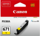 Canon CLI671 Genuine Yellow Ink Cartridge