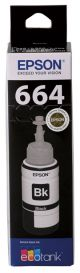 Epson T664 Genuine Black Eco Tank Ink Bottle