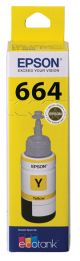 Epson T664 Genuine Yellow Eco Tank Ink Bottle