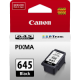 Canon PG645 Genuine Black Ink Cartridge - 180 pages
