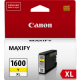 Canon PGI1600XL Genuine Yellow High Yield Ink Tank - 900 pages