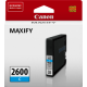 Canon PGI2600C Genuine Cyan Ink Tank - 700 pages