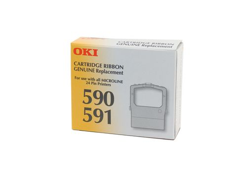 Oki 590/591 Genuine Ribbon Series (PA4025-3294G001) - approx 3M characters