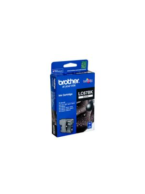 Brother LC67 Genuine Black Ink Cartridge - 450 pages