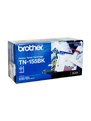 Brother TN155 Genuine Black Toner Cartridge - 5,000 pages