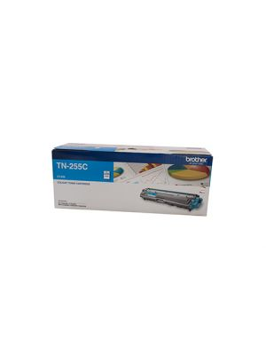 Brother TN255 Genuine Cyan Toner Cartridge - 2,200 pages