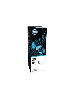 HP #30 Genuine Black Ink Bottle 1VU29AA