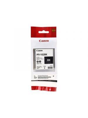 Canon PFI102 Genuine Black Ink