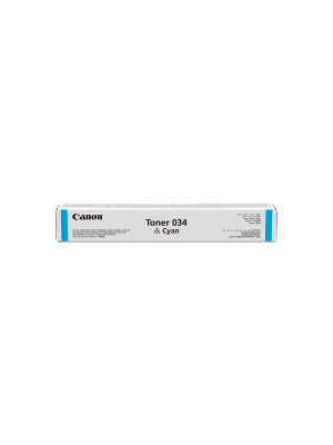 Canon CART034 Genuine Cyan Toner