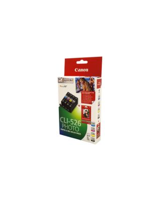 Canon CLI526 Genuine Ink Value Pack - refer each cart