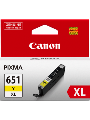 Canon CLI651XL Genuine Yellow Ink Cartridge - 695 A4 Pages