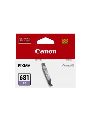 Canon CLI681 Genuine Photo Blue Cartridge - 1660 pages