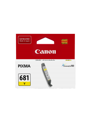 Canon CLI681 Genuine Yellow Ink Cartridge - 250 pages
