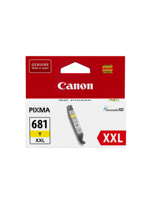 Canon CLI681XXL Genuine Yellow Ink Cartridge - 760 pages