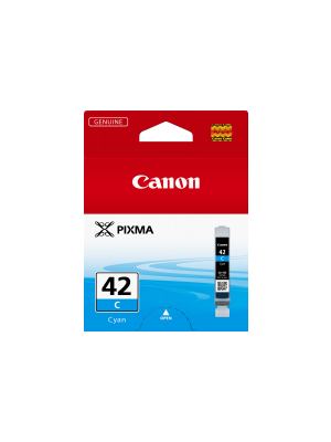 Canon CLI42 Genuine Cyan Ink Cartridge - 58 pages A3+