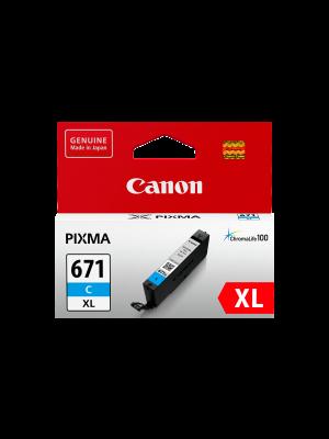Canon CLI671XL Genuine Cyan Ink Cartridge