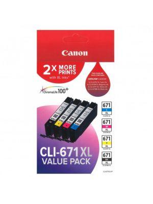 Canon CLI671XL Genuine Value Pack