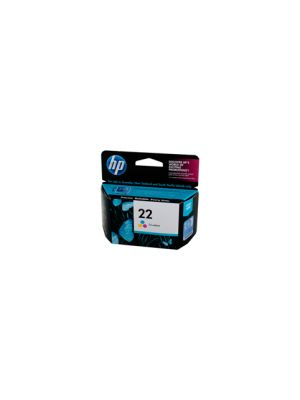 HP #22 Genuine Colour Ink Cartridge C9352AA - 170 pages