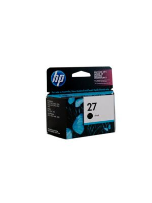 HP #27 Genuine Black Ink Cartridge C8727AA - 220 pages