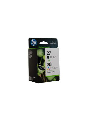 HP #27/28 Ink Twin Pack