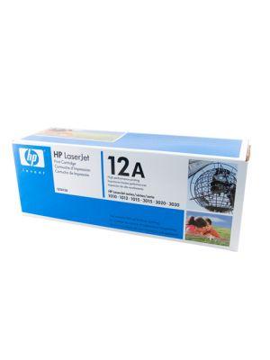 HP #12A Genuine Black Toner Q2612A - 2,000 pages