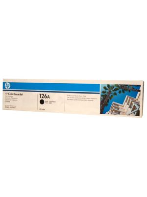 HP #126A Genuine Black Toner CE310A - 1,200 pages