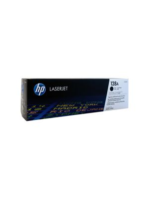 HP #128A Genuine Black Toner CE320A - 2,000 pages