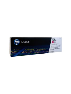 HP #128A Genuine Magenta Toner CE323A - 1,300 pages
