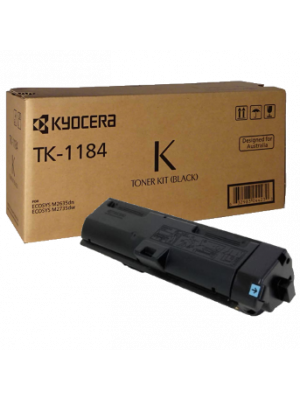 Kyocera TK1184 Toner Kit - Prints up to 3,000 pages