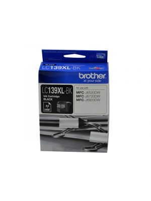 Brother LC139XL Genuine Black Ink Cartridge - up to 2400 pages