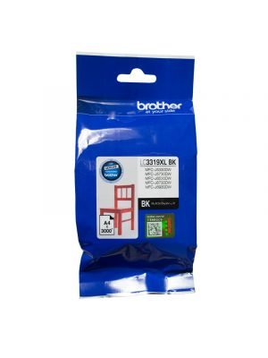 Brother LC3319XL Genuine Black Ink Cartridge - up to 3000 pages